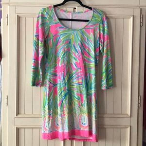 Palm Lilly Dress